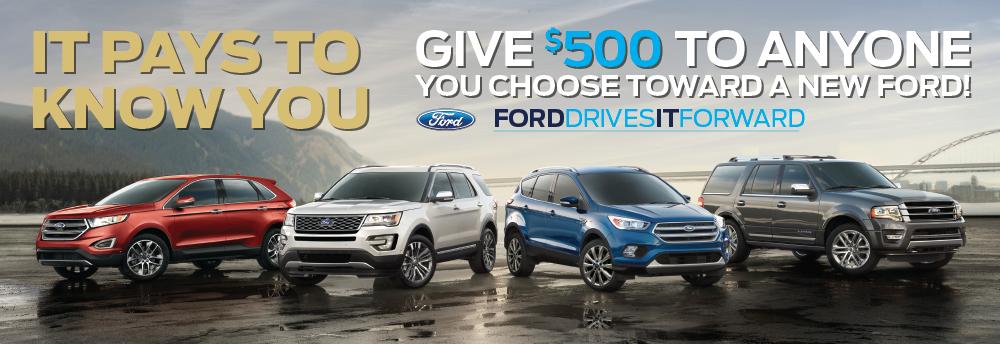 Ford Drives it Forward
