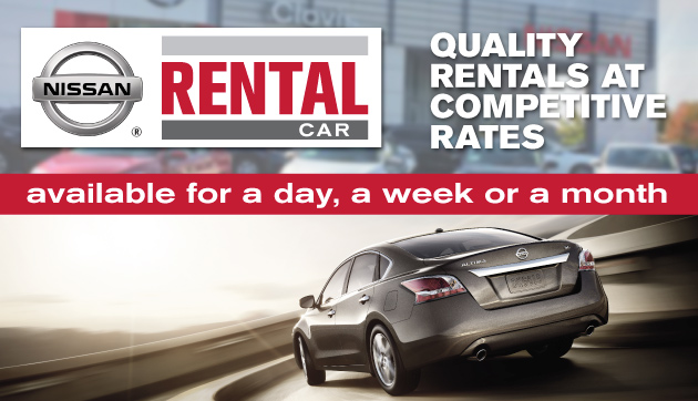 Nissan Vehicle Rentals at Lithia Nissan of Clovis