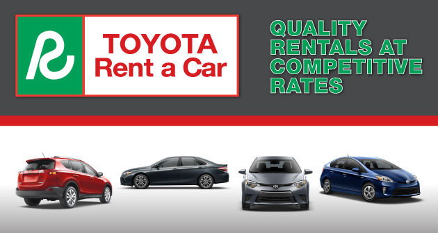 Toyota Vehicle Rentals