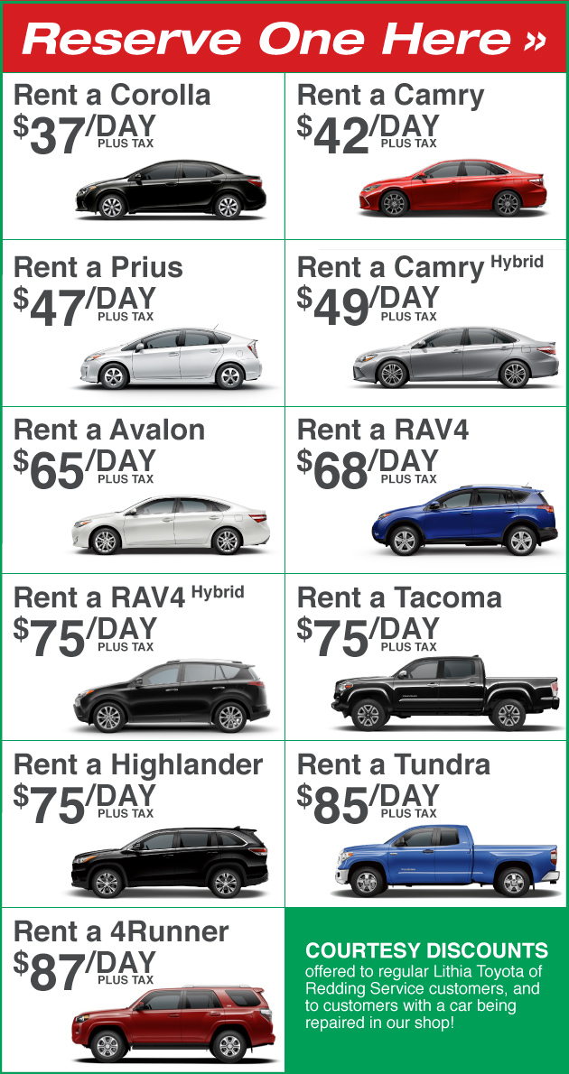 Nissan Vehicle Rentals