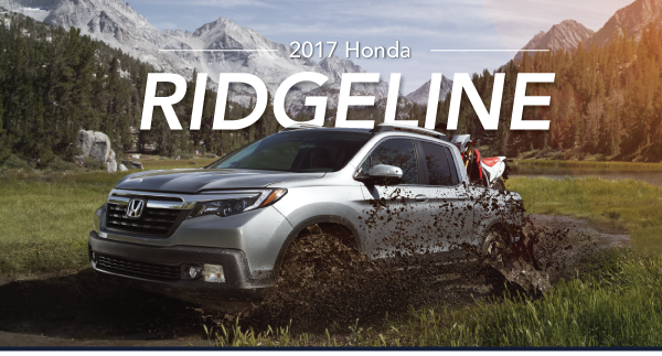 The 2017 Honda Ridgeline
