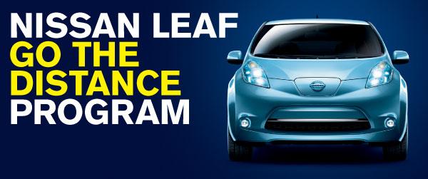 Nissan Leaf Go The Distance Program
