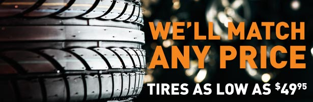 Buy New Car Tires at Lithia Volkswagen of Reno