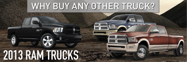 New Ram trucks at Lithia Chrysler Jeep Dodge of Tri-Cities in