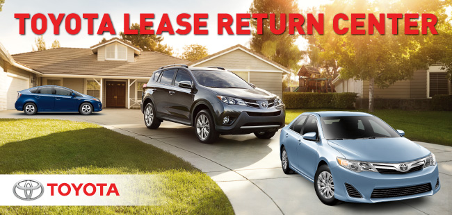 Toyota Lease Return Center in Springfield