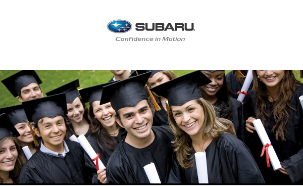 Subaru College Graduate Program At Lithia Subaru Of Oregon City - Subaru graduate program