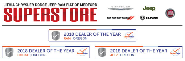 Lithia Chrysler Dodge Jeep Ram Fiat of Medford Superstore
