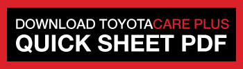 Download Toyota Care Quick Sheet PDF
