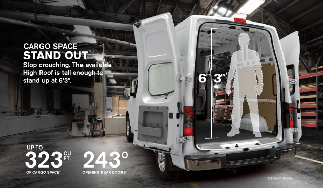 Image result for standing up inside van
